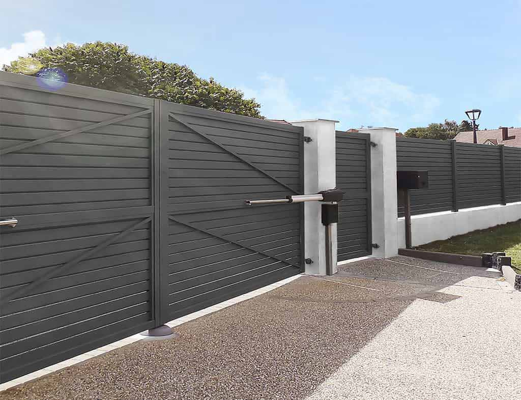 automatic residential swing gates