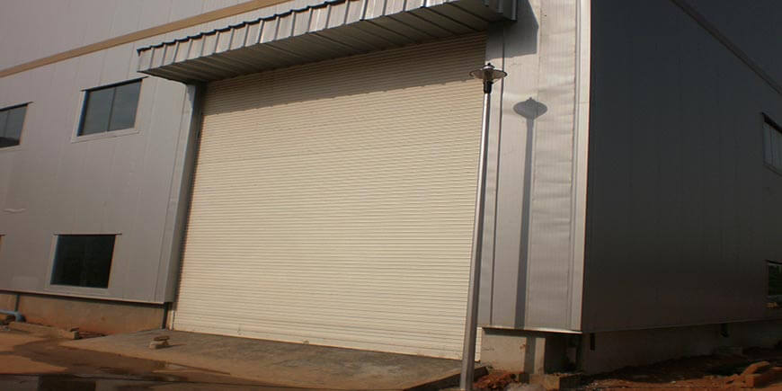 rolling shutter concord automation