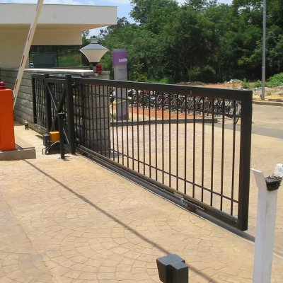 Sliding gate concord automation